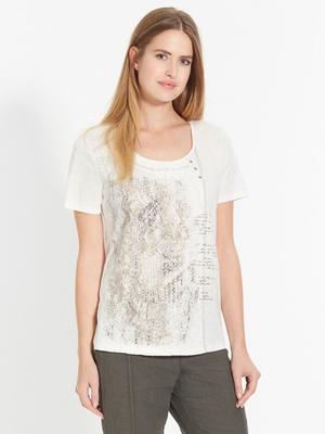 Tee-shirt bi-matière