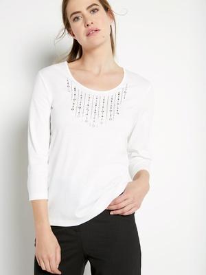 Tee-shirt à strass