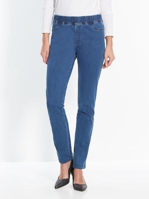 Pantalon denim, mollet standard