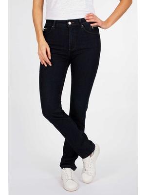 Pantalon ajusté détails zips