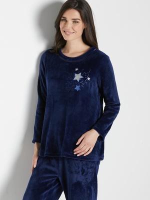 Pyjama en maille peluche toute douce