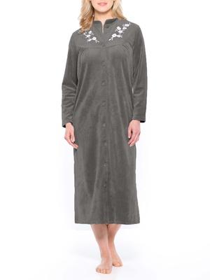 Robe de chambre en maille velours