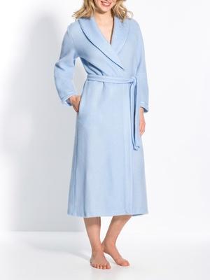 Robe de chambre en molleton courtelle