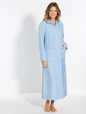 Robe de chambre col Claudine, courtelle