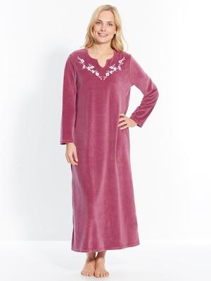 Robe d'hôtesse en maille velours