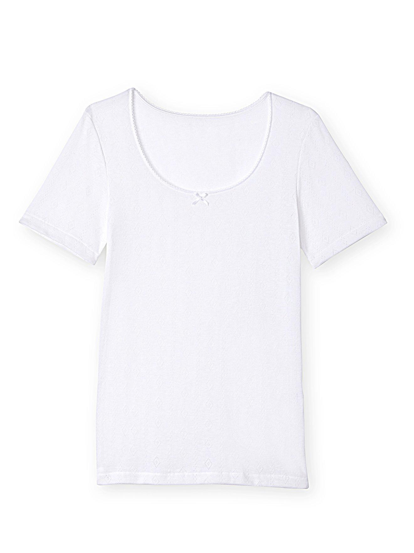 BALSAMIK Chemises de corps Blanc Taille : 54/56