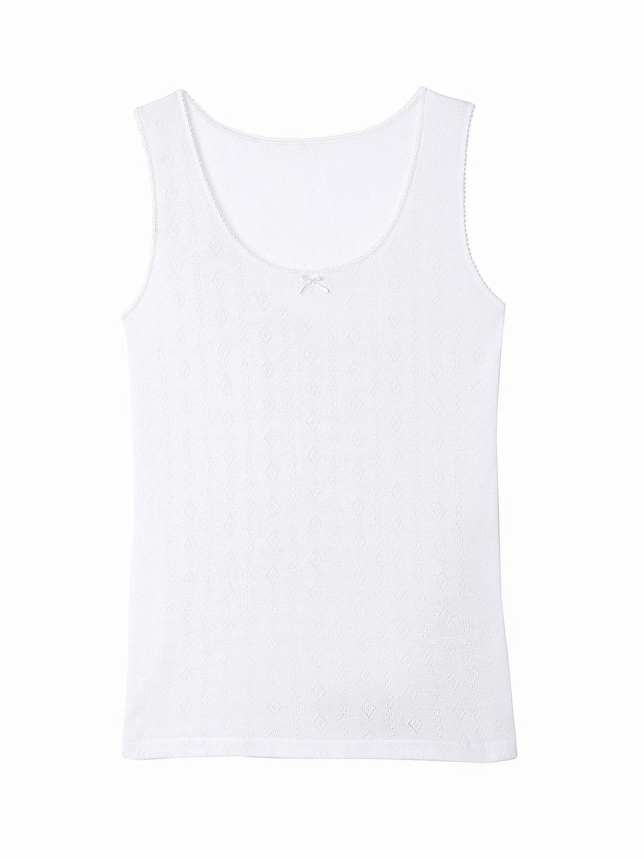 BALSAMIK Chemises de corps Blanc Taille : 38/40