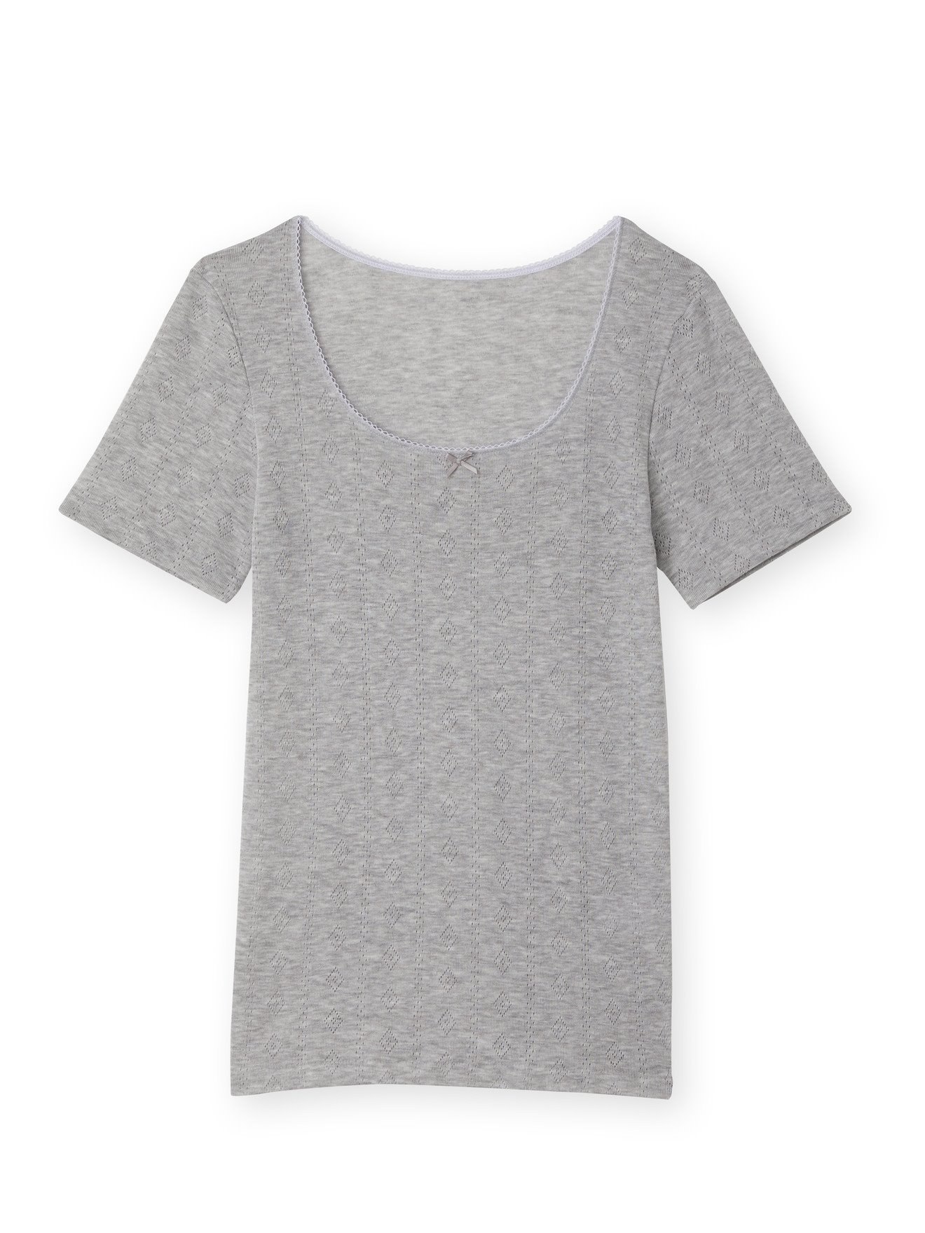 BALSAMIK Chemises de corps Gris Taille : 46/48