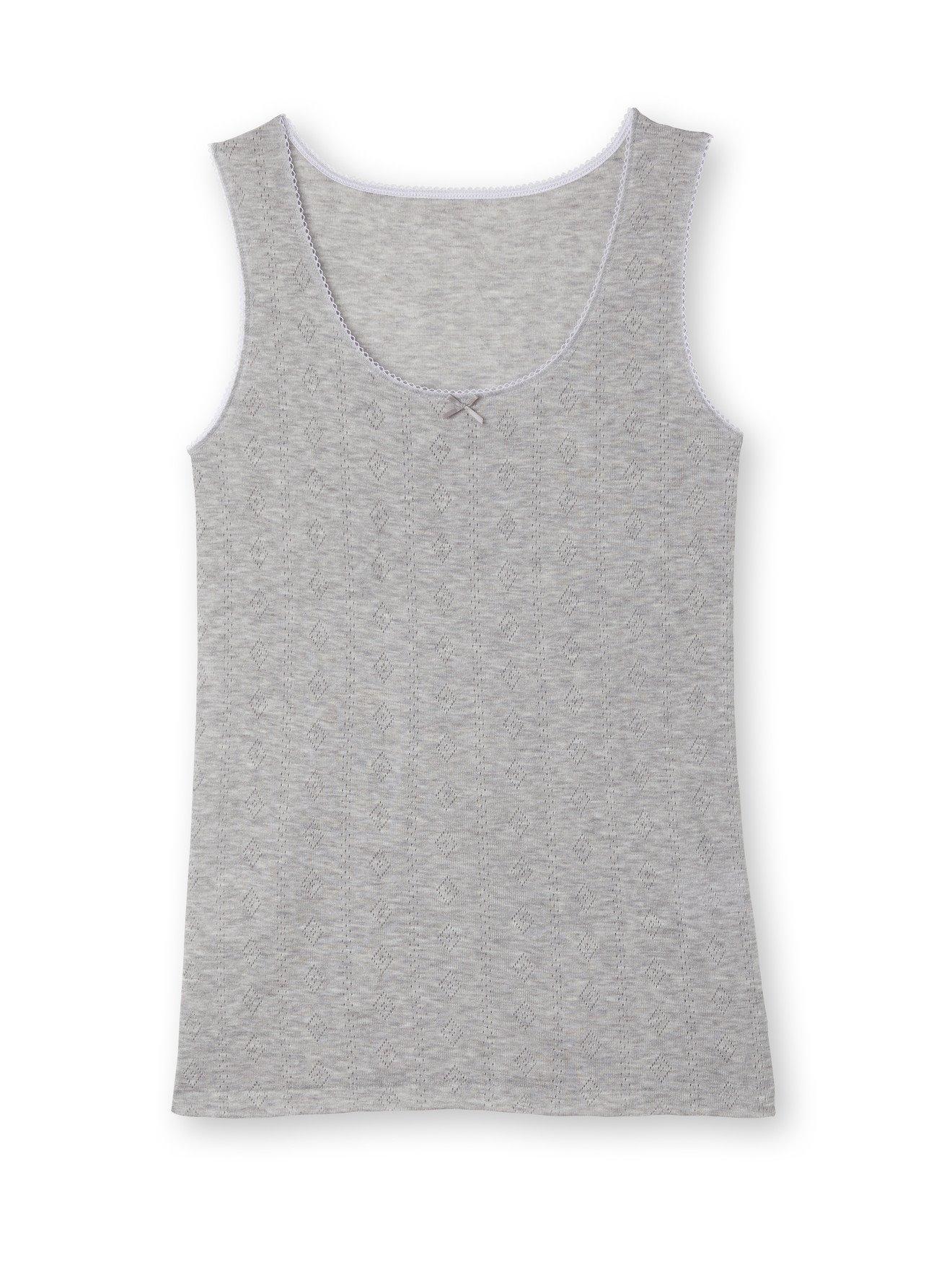 BALSAMIK Chemises de corps Gris Taille : 54/56