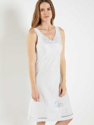 Fond de robe maille satinée, 105cm