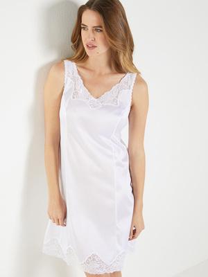 Fond de robe maille satinée, 95cm