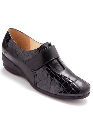 Chaussures derbies à patte auto-agrippan