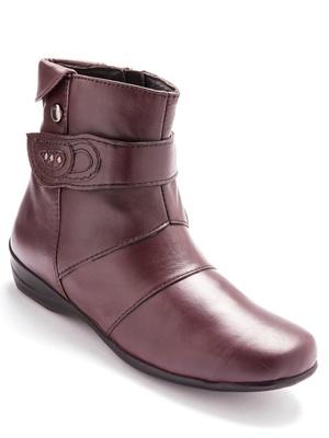Boots zippées à aérosemelle®