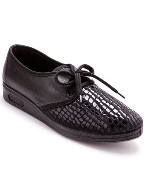 Derbies extensibles, pieds sensibles