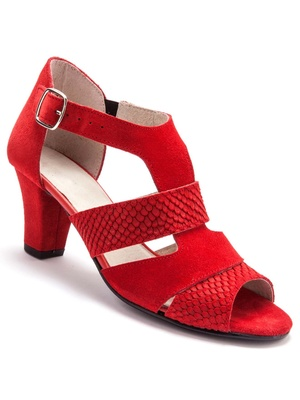 Sandales arrière fermé, largeur confort