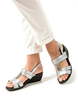 Sandales cuir, option chic