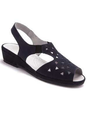 Sandales ultra souples cuir aérosemelle®