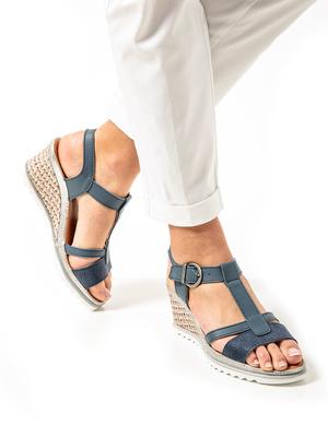 Sandales compensées légères