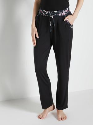 Pantalon de pyjama, en maille fluide