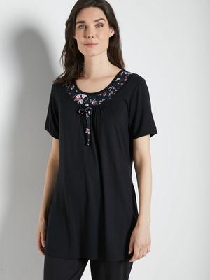 Tee-shirt de pyjama, manches courtes