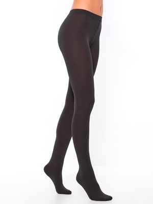 Collants opaques maille polaire lot de 2