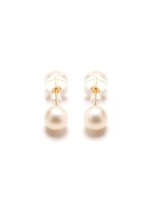 Puces d'oreilles perles de culture