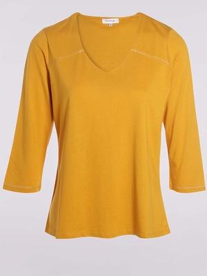 Tee-shirt en coton et modal